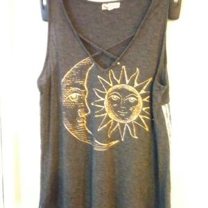About a girl moon and sun tank large